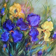 http://www.nancymedina.com/available-paintings/spring-rain-iris-garden
