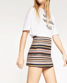 Image 2 of PRINTED CULOTTES from Zara