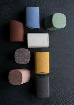 Cemento colorato / Coloured concrete