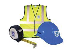 Advent OET-HHHVVTM Official England Hard Hat, Hi-Vis Vest and Tape Measure