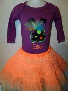 Halloween Wicked Cute Witch Feet Cauldron by rowanmayfairs on Etsy