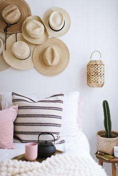 Welcome back to the second in our series all about small spaces! This time around, we tackle the bedroom. A place that you really want to make a calm and inviting space, even if it's the size of a pos