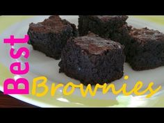The Best Chocolate Brownies in the World - The Frugal Chef - YouTube