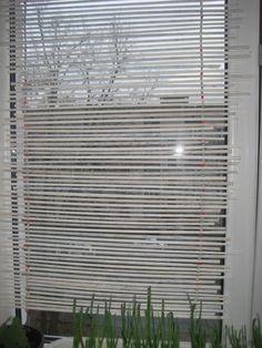 жалюзИ (ударение на И) из газетных трубочек / Работа с бумагой / Другие поделки из бумаги и картона