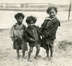 Gypsy children in Amsterdam (Dutch National Archives)