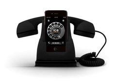 Get Nostalgic with the 'Ice-Phone' Handset #phonestands trendhunter.com