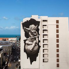 """""Heaven & Hell on Earth""  INO! - Fortaleza, Ceará, Brasil.  #ino #fortaleza #ceara #brasil #graffiti #streetart #urbanart #elgraffiti #art #mural @inocv"""