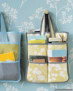 Bias Tape Tote Bag ~ http://www.marthastewart.com/957206/bias-tape-tote-bag