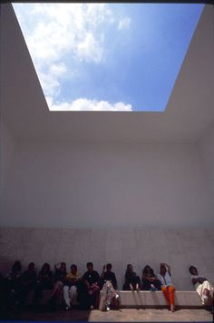 Got to experience my first James Turrell at the Israel Museum - where the sky seems particularly apt for this kind of light installation piece. I think I want one for the Newark Museum's garden. James Turrell, Land Art, The Longest Ride, Visual Aesthetics, Light And Space, Waterworks, Quiet Moments, Light Installation, Environmental Art