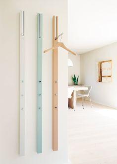 Interior Design Magazine Finalist: Line Storage Rack – Design & Trend Report Interior Design Magazine, Davis Furniture, Coat Storage, Rack Design, Diy Door, Apartment Design, Home Accessories, Small Spaces, Furniture Design