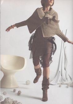 Crochet enchanté: Gilet retro au tricot