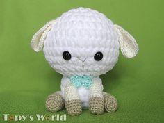 Free Amigurumi Lamb : Free lamb or sheep amigurumi crochet pattern and tutorial free