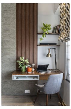 Study Table Designs, Study Room Design, Home Room Design, Home Office Design, Home Office Decor, Home Decor Bedroom, Office Setup, Office Ideas, Office Organization
