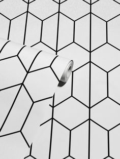 This stylish Linear Geo Wallpaper will make a great feature in your home with it's simple yet effective geometric design. The delicate linear pattern forms interlocking hexagonal shapes in black on a contrasting white backdrop, with a smooth matte finish. Easy to apply, this high quality wallpaper will look great when used to decorate a whole room or to create a distinctive feature wall. Linear Pattern, Hexagon Pattern, Pastel Colors, Bold Colors, Pattern Matching, White Backdrop, High Quality Wallpapers, Geometric Wallpaper, Geometric Designs