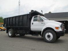 Ford Trucks For Sale, Ford F650, Dump Truck, Cummins, Big Trucks