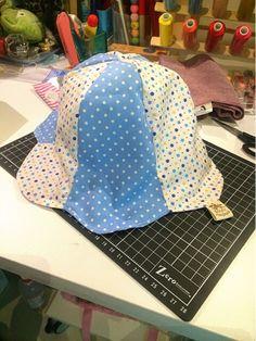 花型雙面帽帽!