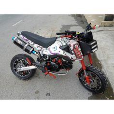 Honda Grom MSX125 NamBam High Mount Exhaust  #msx125 #grom #hondagrom #hondamsx125 #honda #grom125 #msx125sf