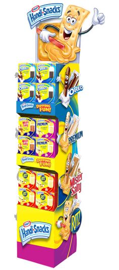 Kraft Handi Snacks Display