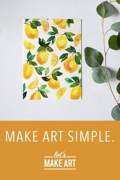 watercolor art flowers - watercolor art for beginners _ watercolor art easy _ watercolor art ideas _ watercolor art for beginners simple _ watercolor art for beginners tutorials _ watercolor art abstract _ watercolor art flowers _ watercolor art aesthetic Lemon Watercolor, Watercolor Kit, Abstract Watercolor Art, Watercolor Projects, Watercolor Trees, Watercolour Tutorials, Watercolor Artists, Watercolor Illustration, Simple Watercolor
