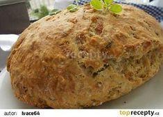 Australský bramborový chléb Damper recept - TopRecepty.cz Czech Recipes, Croissants, Cheesecake, Food And Drink, Pizza, Baking, Kitchen, Gardening, Basket