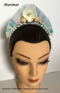Visite nossas páginas no facebook: 1º ato - arranjos e coroas e  Bela Menina - Coroas para Bailarina
