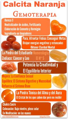Calcita Naranja Gemoterapia – Club Salud Natural