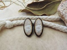 Victorian Vintage Ivory White Tan Lace and Tan by JLynnJewels
