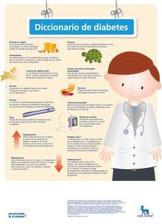 Para controlar tu enfermedad, tienes que estar informado. Aquí, un diccionario de #Diabetes