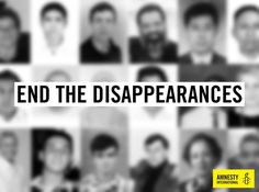 This #DayoftheDisappeared, raise your voice and tell governments around the…
