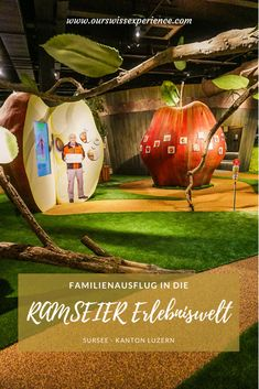 Unser Familienausflug in die RAMSEIER Erlebniswelt Travel With Kids, Family Travel, Buy Tickets Online, Apple Harvest, Photo Corners, Free Cars, Memory Games, Interesting Information, Alcohol Free