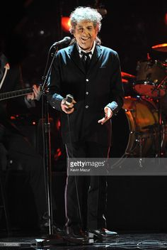 Bob Dylan performs on stage at the 17th Annual Critics' Choice Movie Awards at Hollywood Palladium on January 12, 2012 in Hollywood, California.