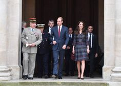 Kate et William en visite aux Invalides à Paris The Duke and Duchess of Cambridge at Les Invalides, where they met a number of victims and first responders from the Bataclan and Nice attacks and also heard more about the important historic and current role of the site, in particular its work supporting veterans and its rehabilitation programmes, as part of their official visit to the French capital. Paris, France, on Saturday March 18, 2017. Photo by Tim Rooke/PA Wire/ABACAPRESS.COM…