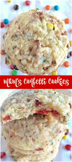 M&M's Confetti Cookies - Together as Family