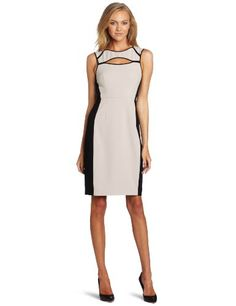 BCBGMAXAZRIA Women's Kelsee Color-Block Sheath Dress - http://ocdinvestments.com/bcbgmaxazria-womens-kelsee-color-block-sheath-dress/