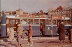 Colour Photos of Helsinki in The 1950's-60's