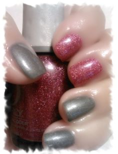 Sinfulcolors-Slate  &  Orly-Miss Conduct