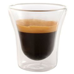 Set of 6 Double Walled Espresso Cups Insulated Coffee Mug Glass 27 oz  Unique By Jecobi -- For more information, visit image link.