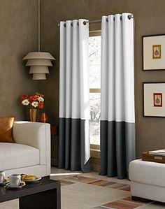 Curtainworks Kendall Color Block Grommet Curtain Panel, 8... https://www.amazon.com/dp/B00QSNVGE2/ref=cm_sw_r_pi_dp_x_82rkybEP1XGN9
