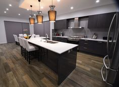 Spanish timber look floor tiles. They have a distressed worn timber look.