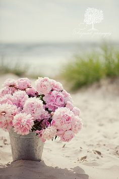 A bucket full of Peonies ♥ momentulzero