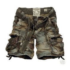 Camo Shorts @BBT.com found on Polyvore featuring polyvore, women's fashion, clothing, shorts, bottoms, camoflage shorts, camoflauge shorts, camo print shorts, camo shorts and camouflage shorts