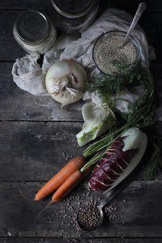 4himglory:  Saffron Quinoa over Roasted Veggies | Hortus Cuisine