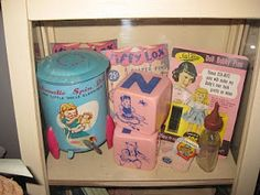 Vintage baby and children's items
