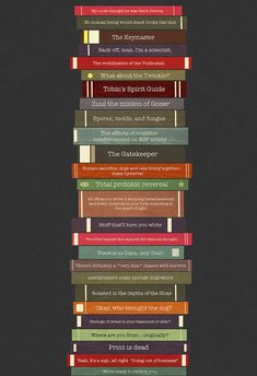 Ghostbusters Quote Book Stack - (13x19) Poster - etsy Missingtime