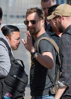 Dierks Bentley Photos - Dierks Bentley is seen at 'Jimmy Kimmel Live' in Los Angeles, California on April - Dierks Bentley Hits 'Kimmel'