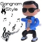 Cute Rubber Gangnam Style PSY Doll Toy Plaything Desktop Display Colle