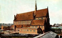 St Barnabas, Stanley Road in 1909.