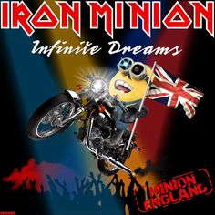 Iron Minion: 15 covers of Iron Maiden in Minion version ~ IRON MAIDEN 666 - BRAZIL