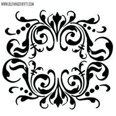 mandala stencil - Google Search