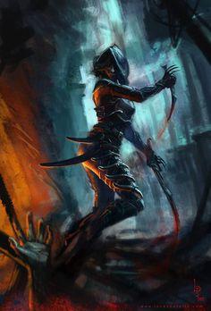 Rogue - Shadow - Assassin by LucasParolin on deviantART